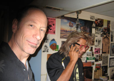John Herdt and Johnnie Bolin at Rampant Squid Sound Studio. May 24, 2012.
