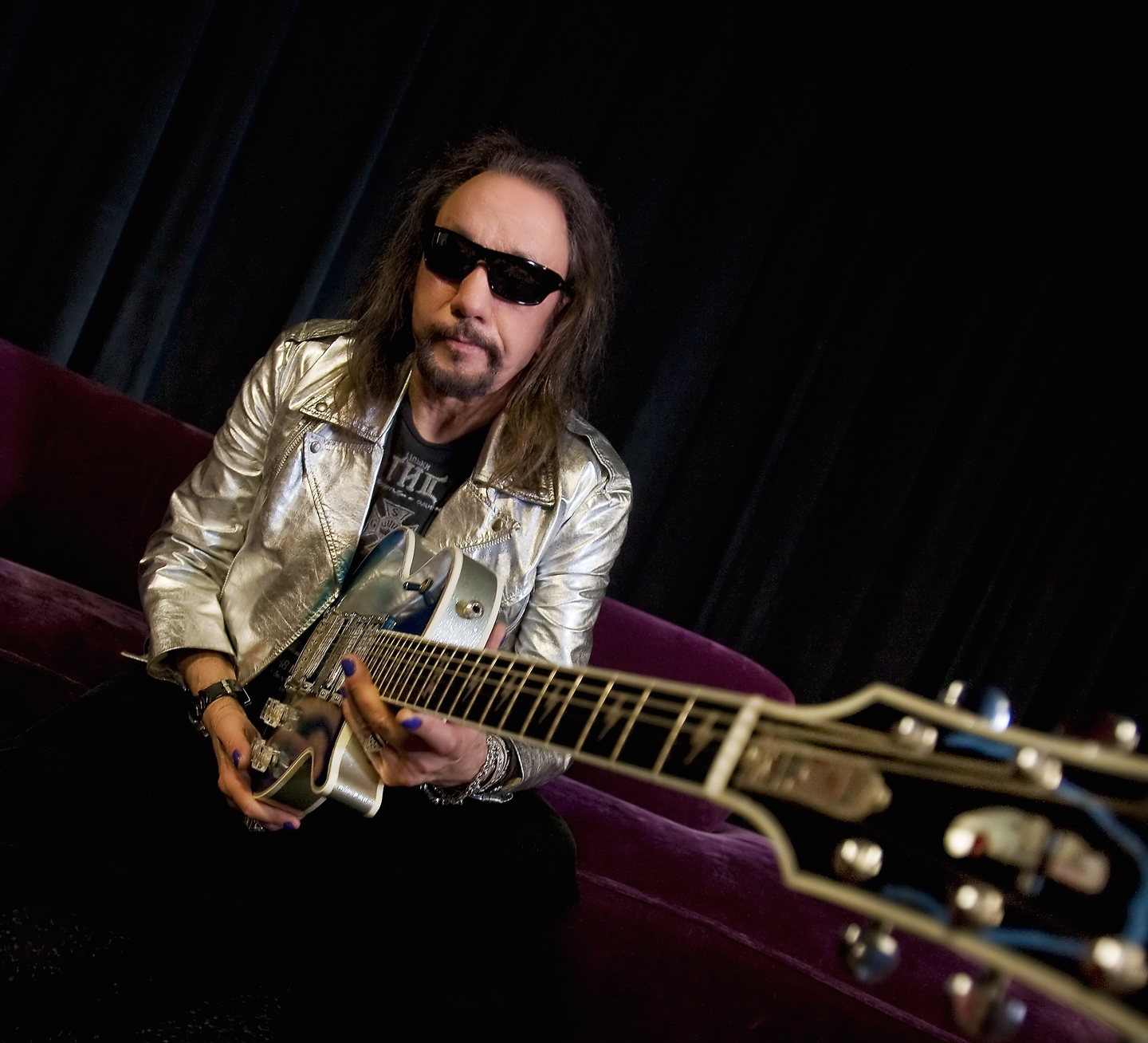 Ace Frehley photo by Kevin Britton.