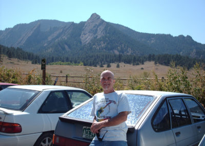 Bobby Berge in Boulder, CO. August, 2006.