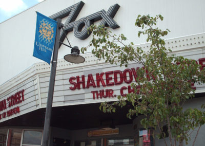 The Fox Theatre in Boulder. August, 2006.